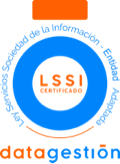datagestión LSSI certificado
