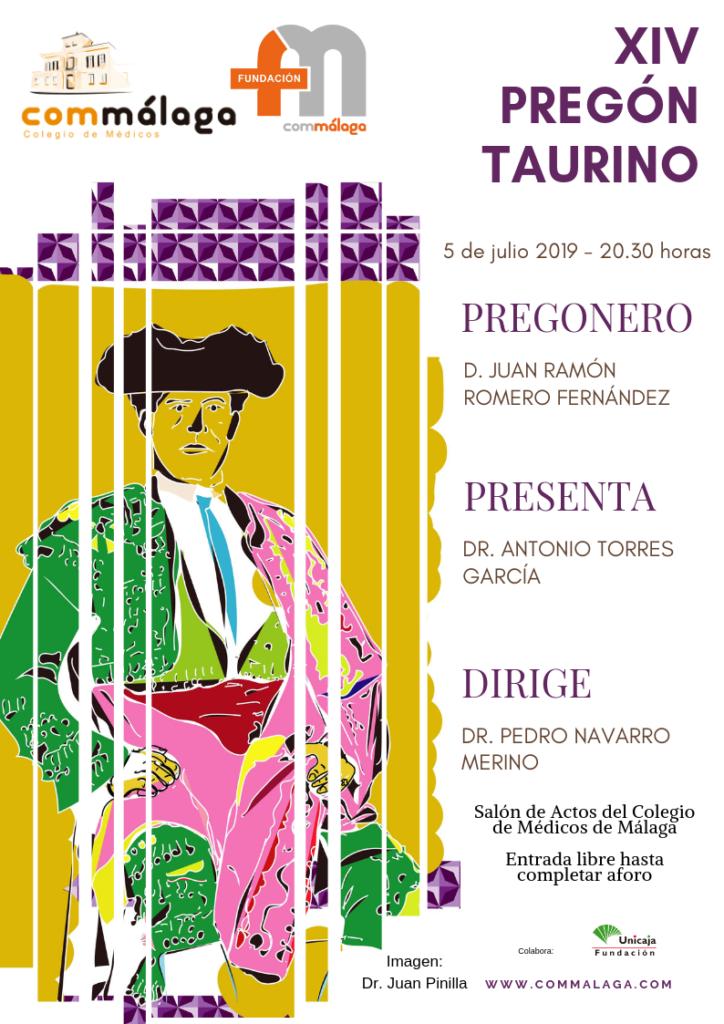 99a1e191ade El comunicador Juan Ramón Romero dará este viernes el XIV Pregón Taurino  del Colegio de Médicos de Málaga