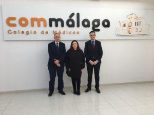 El Colegio de Médicos de Málaga, primera institución colegial médica de España en unirse al Proyecto Hércules