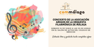 Concierto gratuito de la Asociación de Amigos Orquesta Filarmónica el 16 de junio