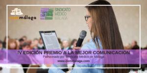 IV Premios a la Mejor Comunicación, patrocinados por Sindicato Médico de Málaga
