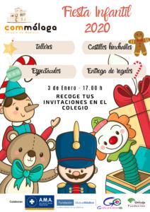 La Fiesta Infantil será el 3 de enero. ¡Recoge ya tu invitación!