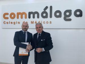 El Colegio renueva el acuerdo de colaboración con  Fundación Hispania Música - Concerto Málaga