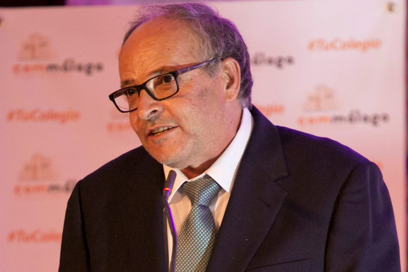 Director de la revista Málaga, José Luis Jiménez Lorente.