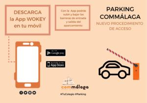 Parking Commálaga: nuevo sistema de acceso