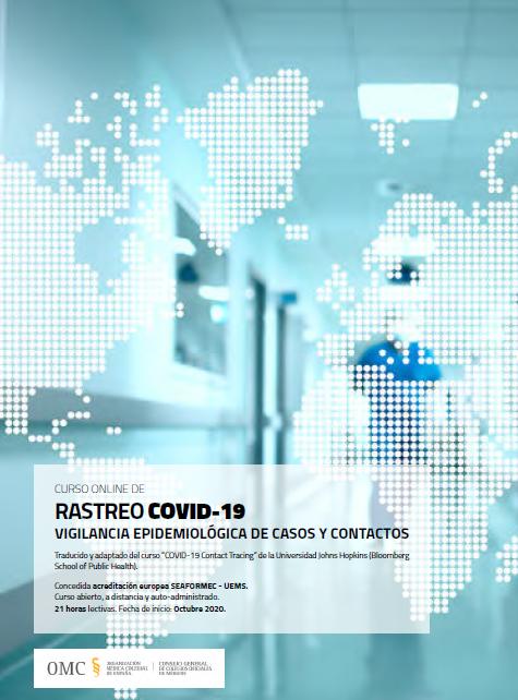 Curso gratuito y acreditado para formar rastreadores COVID-19 de la OMC | 22 de octubre