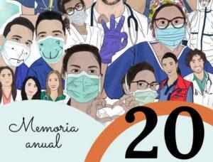 Año 2020: Memoria de actividades del Colegio de Médicos