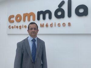 El Dr. López Medina, director de la Escuela de Diabetes del Colegio