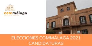 Elecciones Commálaga: proclamación provisional de las candidaturas